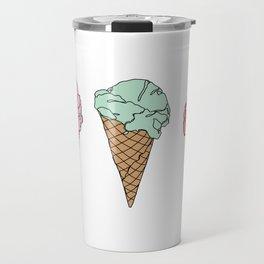 Ice creams illustration Travel Mug