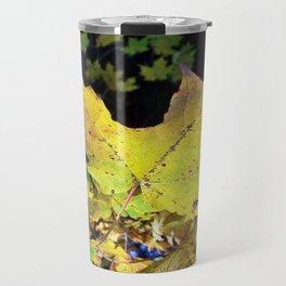 Spotted Maple Leaf Travel Mug