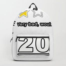 2020 Review 1 Star Rating Very Bad Would Not Recommend Gift Backpack