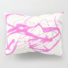 pink abstract Pillow Sham