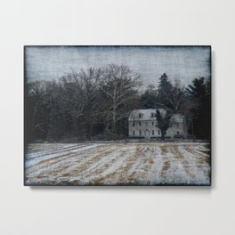 Historic Home At Waterford Metal Print