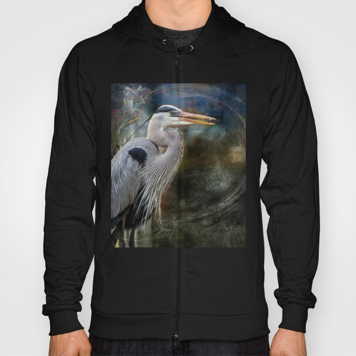 Great Blue Heron Hoody
