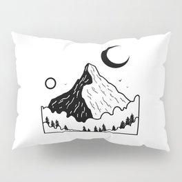 Montagnes dans les nuages 2 Pillow Sham