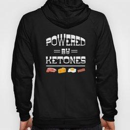 Powered by Ketones carbohydrate body energy Hoody