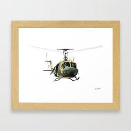 """Huey"" Framed Art Print"