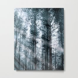 I Talk to the Trees... Metal Print
