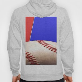 Baseball Sports on Blue and Red Hoody