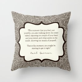 Get it Right Throw Pillow