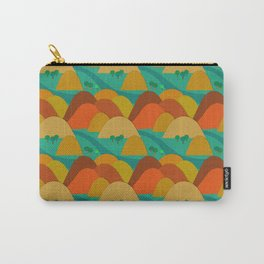 Mountains landscape pattern Carry-All Pouch