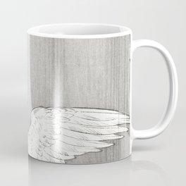 Geese at the river shore - Vintage Japanese Woodblock Print Coffee Mug