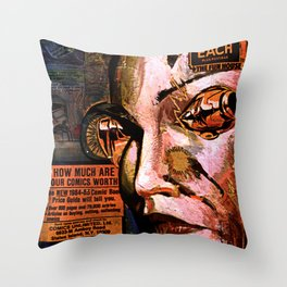 88 cents Throw Pillow