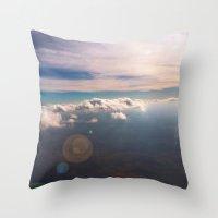 houston Throw Pillows featuring Houston by wendygray