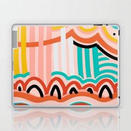 water fountain. Laptop & iPad Skin