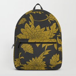 Hand drawn automnal flowers Backpack