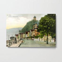1900 Cochem Mosel Moselle Metal Print