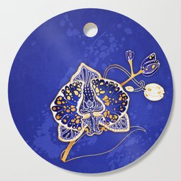 Egyptian Blue :: Orchid Cutting Board