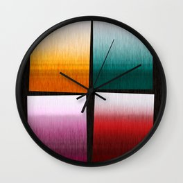 Abstract Composition 505 Wall Clock