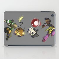fight iPad Cases featuring Fight! by Paul Giovinco
