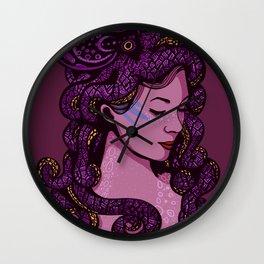 A Mermaid's Hair Wall Clock