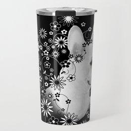 Flower Goddess Frenchie Travel Mug