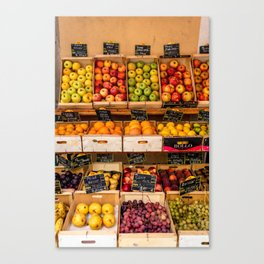 Groceries, Nice France Canvas Print