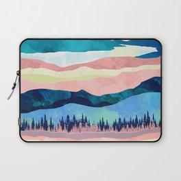 Winter Sunset Laptop Sleeve