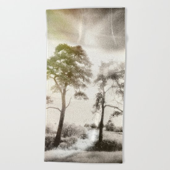 Peace before the Storm Beach Towel