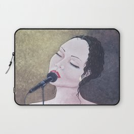 The Moment, Singing Woman Painting, by Faye Laptop Sleeve