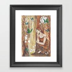 Secret Corner Framed Art Print
