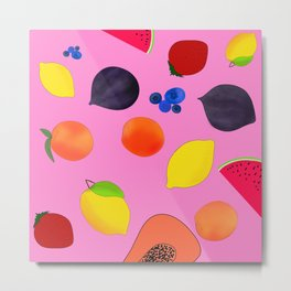 Fruity Fresh Metal Print