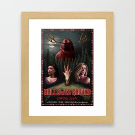 Hallowed Ground Framed Art Print