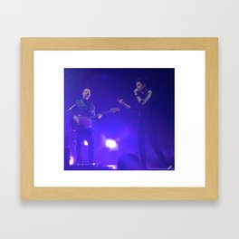Dan and Will Framed Art Print