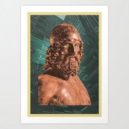 The Impatient Creator Art Print