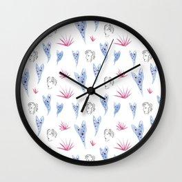 Begonia Gals Wall Clock