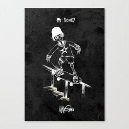 Boney Skateboarding series - 04 Canvas Print