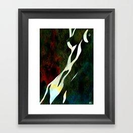nude number nine Framed Art Print
