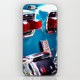 Taillights from a car iPhone Skin