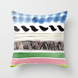 Pattern / Nr. 2 Throw Pillow