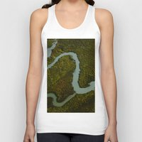 looking for alaska Tank Tops featuring Alaska Streams by Andy Barron