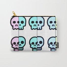 Pastel Goth | Pastel skulls | Pastel Gothic | Gothc skulls | Cute skulls Carry-All Pouch