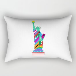 Liberty for All Rectangular Pillow