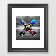 ABOVE & BELOW Framed Art Print
