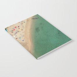 Aerial Koh Phangan Beach Thailnad Notebook