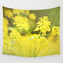 Floral Page Wall Tapestry