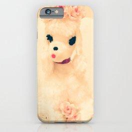 poodle princess iPhone Case