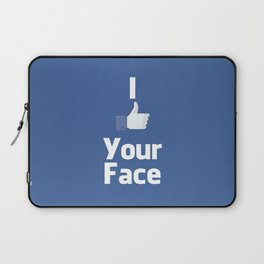 Your Face Laptop Sleeve