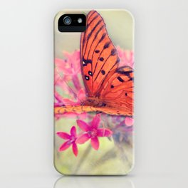 Quiet Butterfly iPhone Case