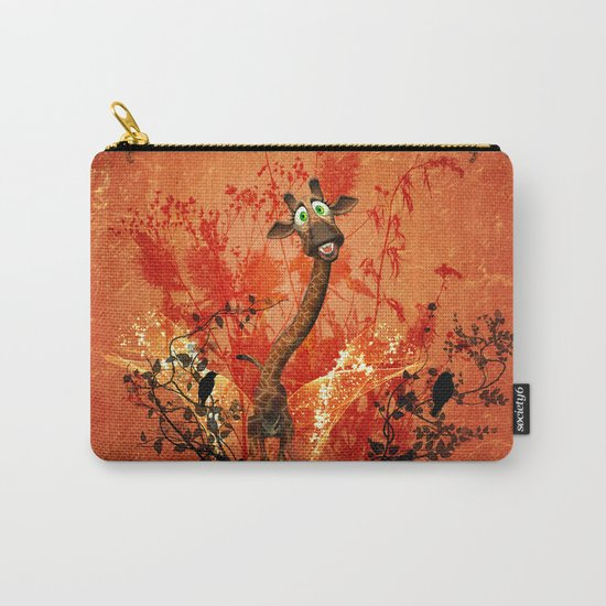 Funny catgiraffe  Carry-All Pouch