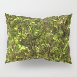 Abalone Shell | Paua Shell | Yellow Tint Pillow Sham
