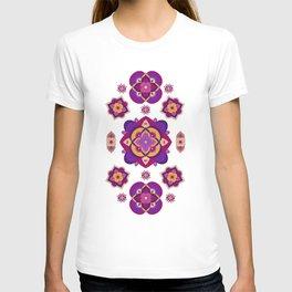 Mandala-Purple and Pink T-shirt